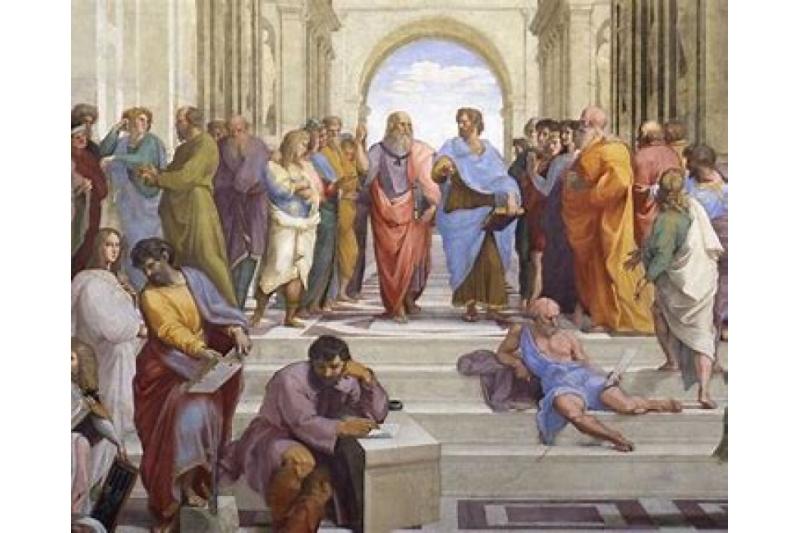 La escuela de Atenas. Rafael Sanzio, 1511. Museos Vaticanos
