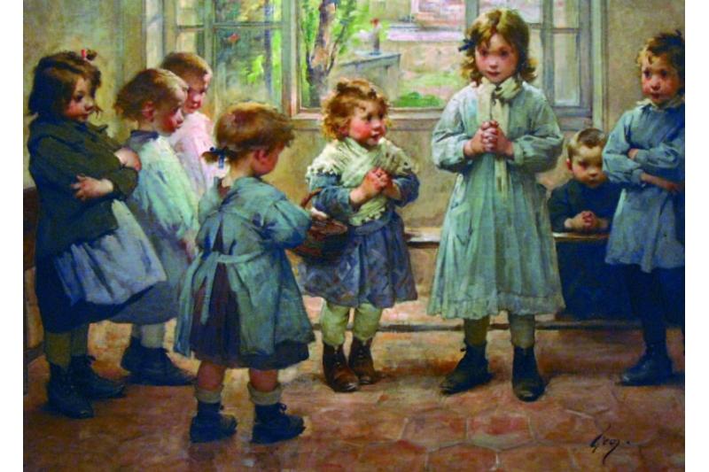 La Oración. Jean Geoffroy, 1924. Colección Particular