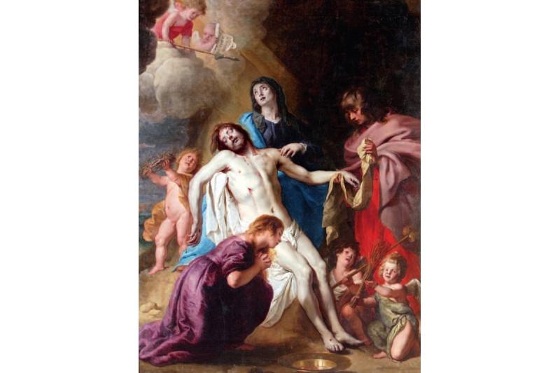 Lamentación sobre Cristo Muerto