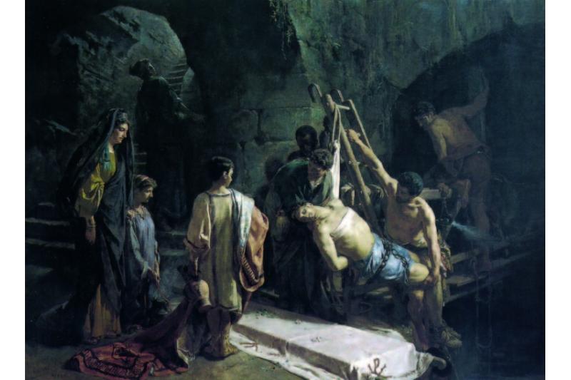 Las persecucions y los mártires