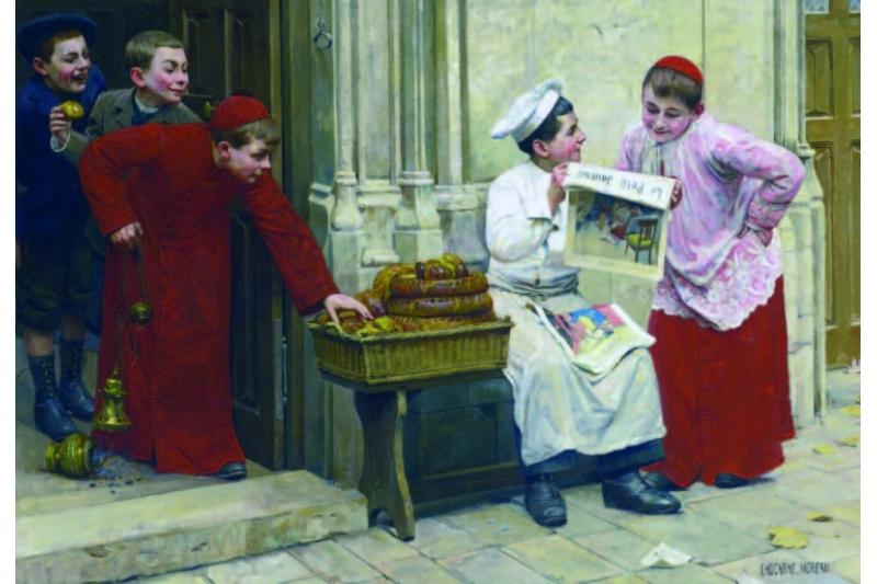 """""""Le Petit Journal"""". Paul Chocarne-Moreau. Colección particular"""