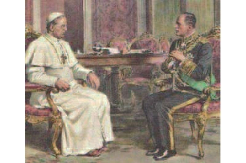 Pío XI condenó el fascismo por su tendencia totalitaria al contro de la visa social italiana