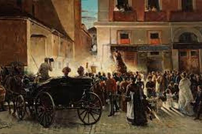 Procesión de San Antonio en Madrid