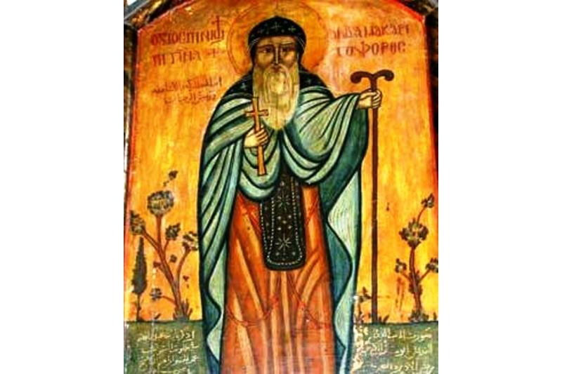 Saint Macarius - 15 de Enero