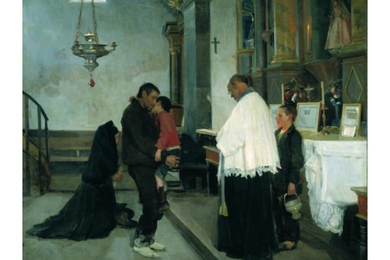 Salus infirmorum. Luis Menéndez Pidal 1896. Museo del Prado (Madrid)