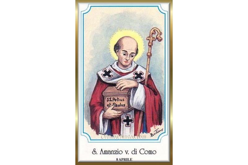 San Amancio de Como, Obispo