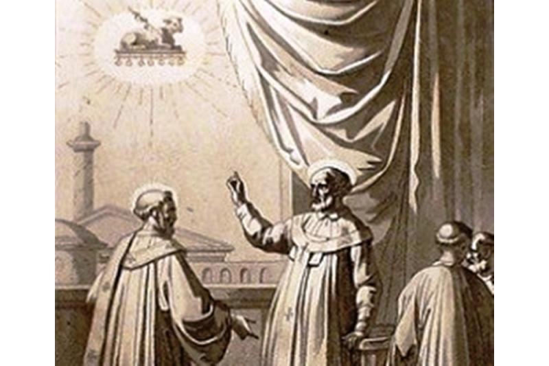 San Aniceto con San Policarpo - 17 de Abril
