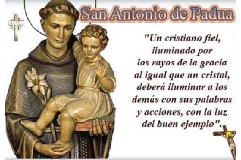 San Antonio de Padua. Un Cristiano fiel