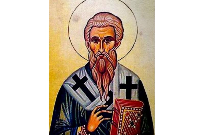 San Auxilio, Obispo. Primer Obispo de Chipre