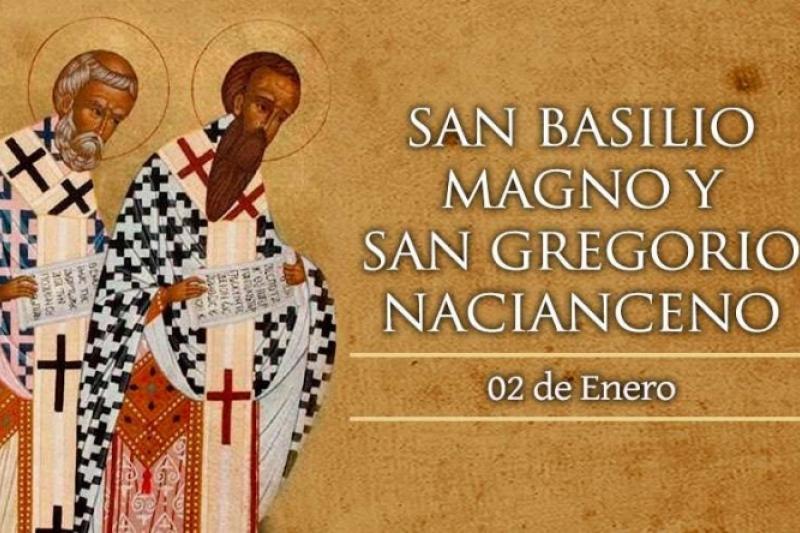 San Basilis Magno y San Gregorio Nacianceno - 2 de Enero