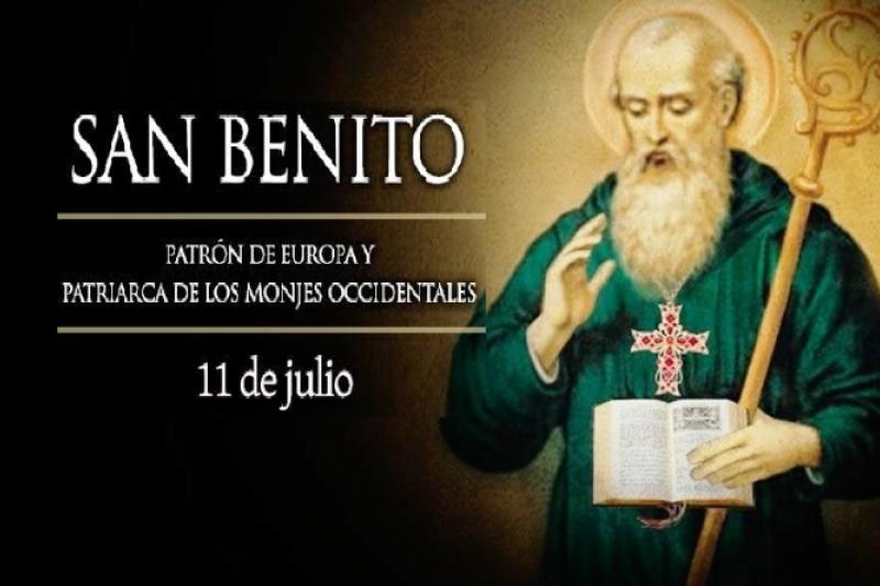 San Benito de Nursia, Patrón de Europa - 11 de Julio