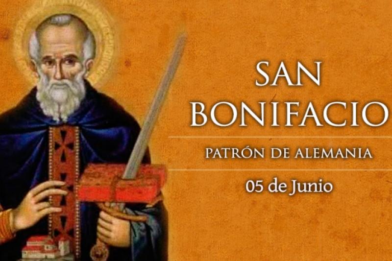 San Bonifacio, Apóstol de Alemania - 5 de Junio