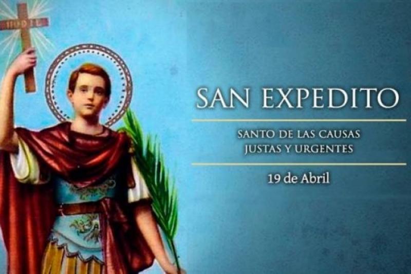 San Expedito - 19 de Abril