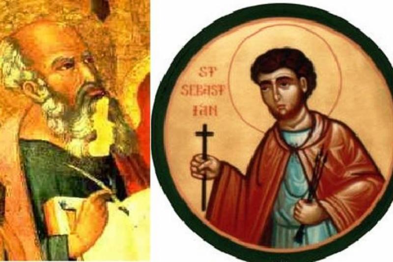 Santos Mártires. Fabián y Sebastián – 20 de Enero