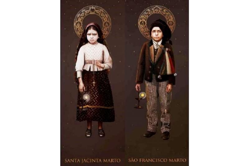 San Francisco y Santa Jacinta Marto, videntes de la Virgen de Fátima – 20 de Febrero