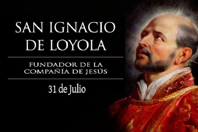 San Ignacio de Loyola. Fundador compañía de Jesús