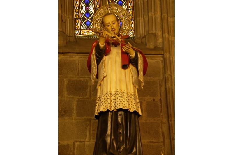 San José Oriol, Capilla de la Catedral de Barcelona - 23 de Marzo