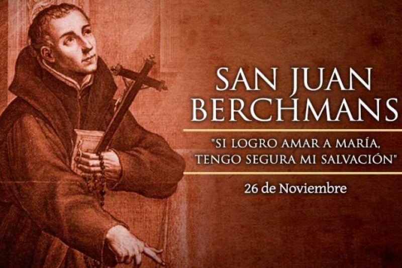 San Juan Berchmans - 26 de Noviembre