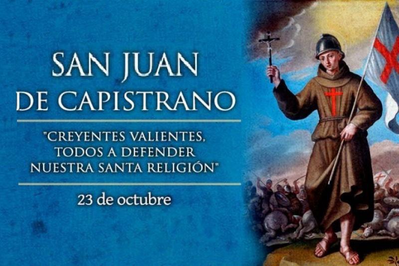 San Juan de Capistrano – 23 de Octubre