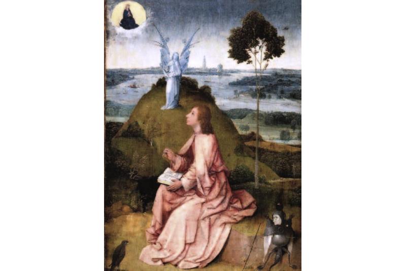 San Juan evangelista en la ista de Patsmos 1505 hieronymus