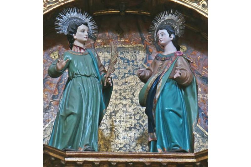 San Julián, Mártir y su esposa Santa Basilisa