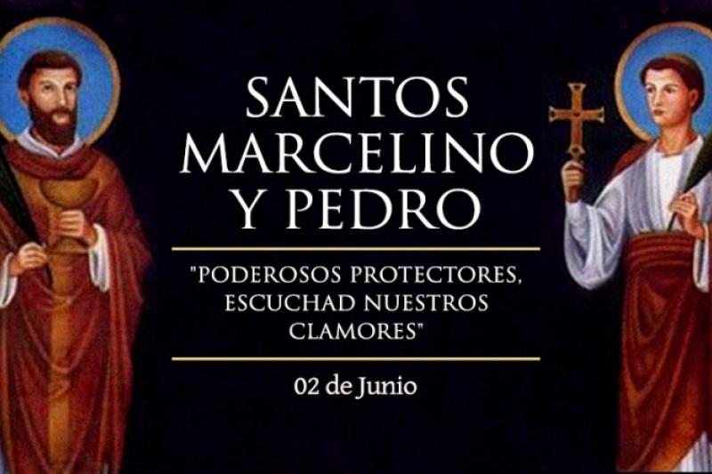 San Marcelino y San Pedro, Mártires - 2 de Junio