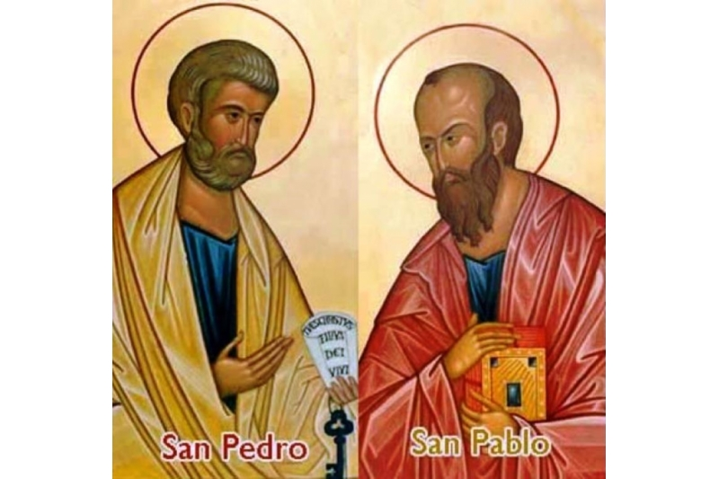San Pedro y San Pablo, apóstoles - 29 de Junio