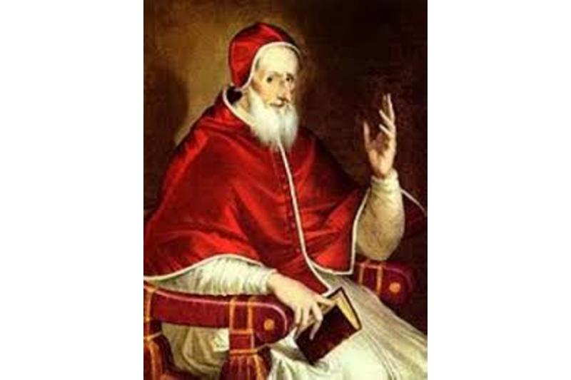 San Pío V, Papa