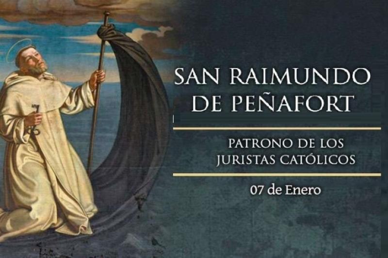 San Raimundo de Pañafort - 7 de Enero