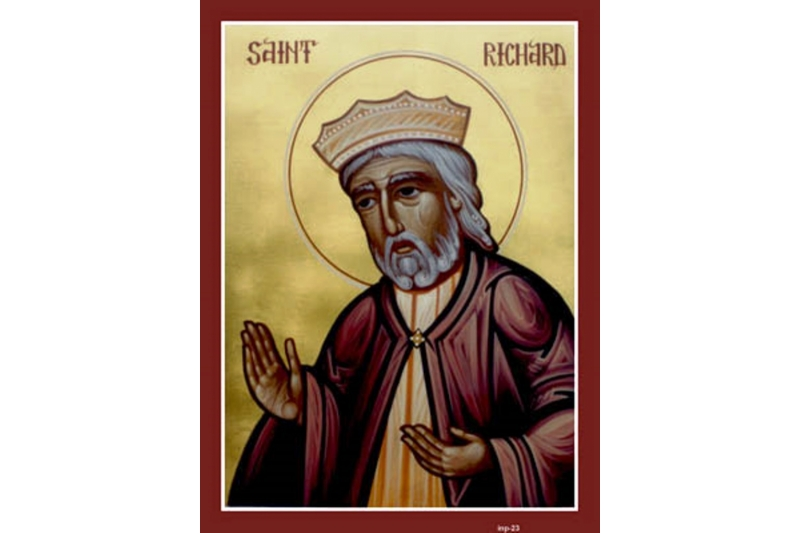 San Ricardo, Rey de Inglaterra - 7 de Febrero