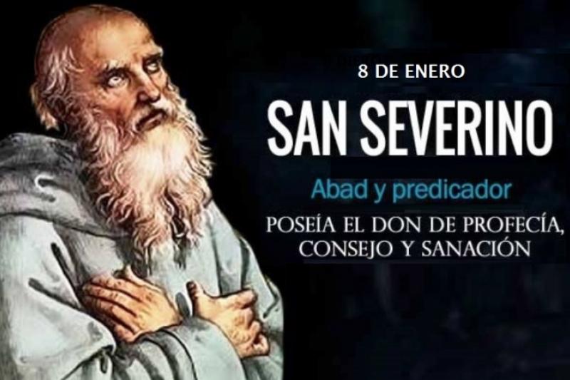San Severino. Abad – 8 de Enero
