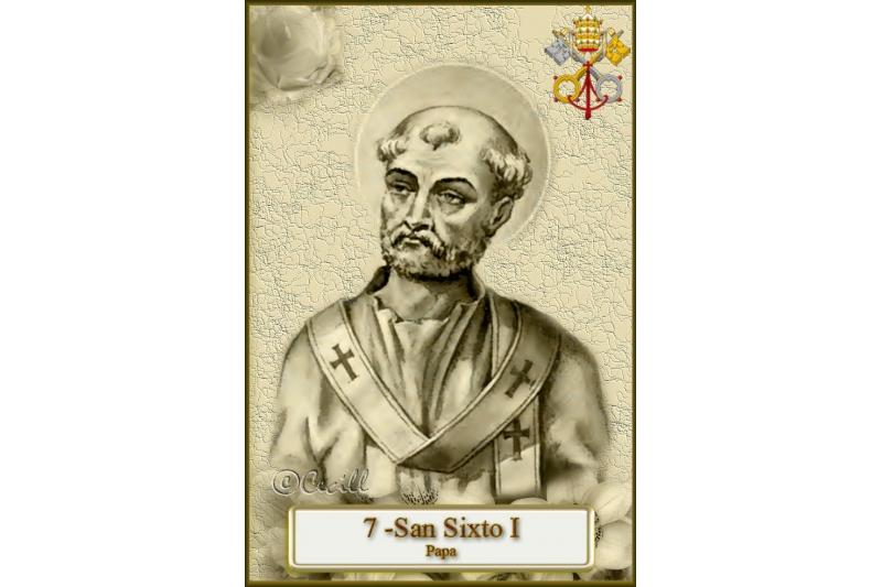 San Sixto I, Papa y Mártir – 3 de Abril