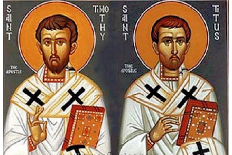 San Timoteo y San Tito - 26 de Enero