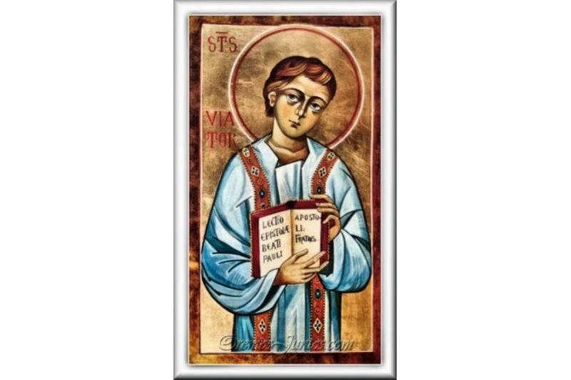 San Viator, Confesor - 21 de Octubre