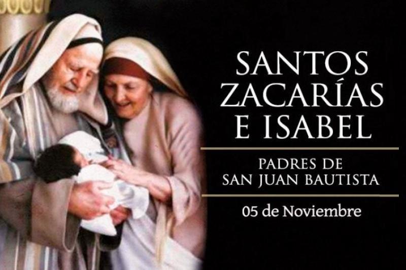 San Zacarías, Profeta e Isabel - 5 de Noviembre
