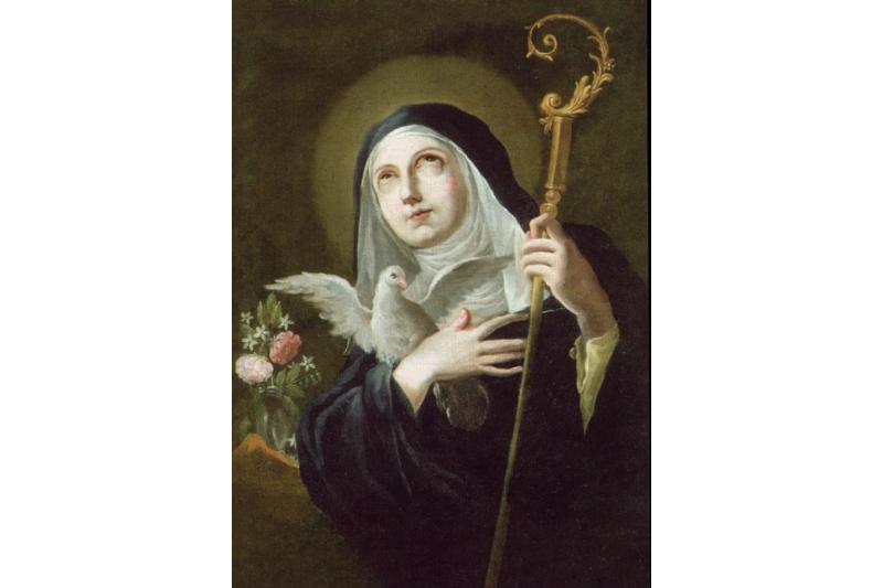 Santa Escolástica, Virgen - 10 de Febrero