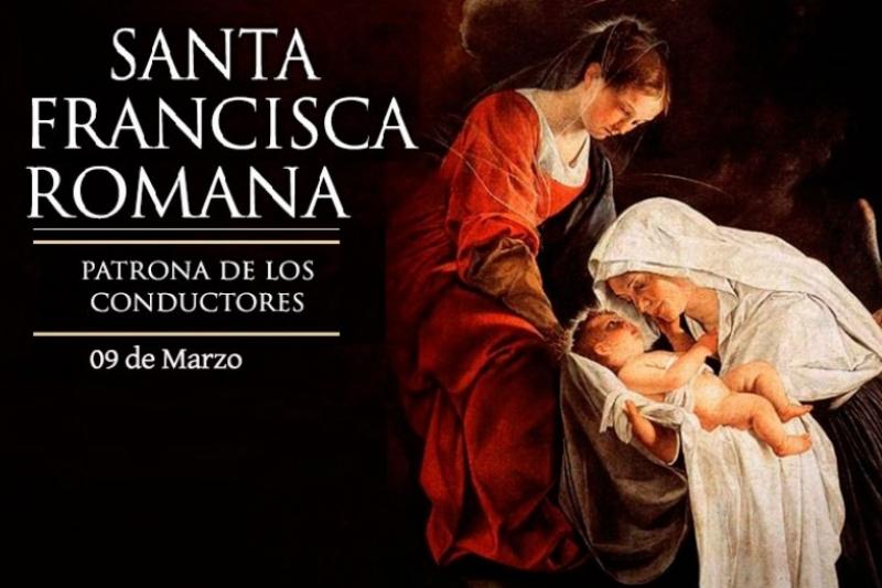 Santa Francisca Romana - 9 de Marzo