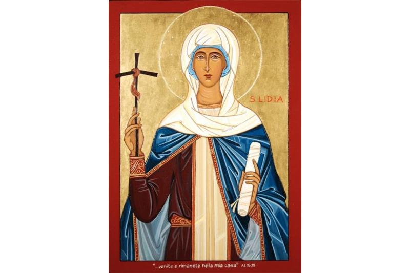 Santa Lidia confesora - 3 de Agosto