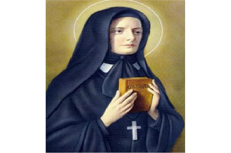 Santa María crucificada Paola de la Rosa. Fundadora Siervos de la Caridad - 15 Diciembre