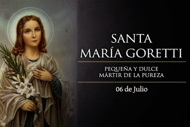 Santa María Goretti. Virgen y Mártir - 6 de Julio