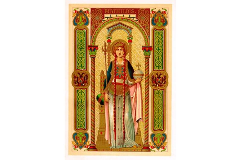 Santa Matilde, reina de Alemania - 14 de Marzo
