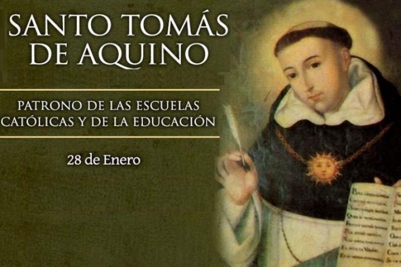 Santo Tomás de Aquino, Doctor de la Iglesia – 28 de Enero