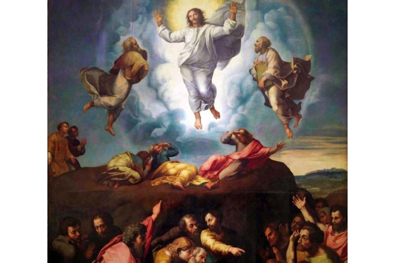 Transfiguración del Señor. Giovanni Francesco Penni, 1520-1528. Museo del Prado, Madrid