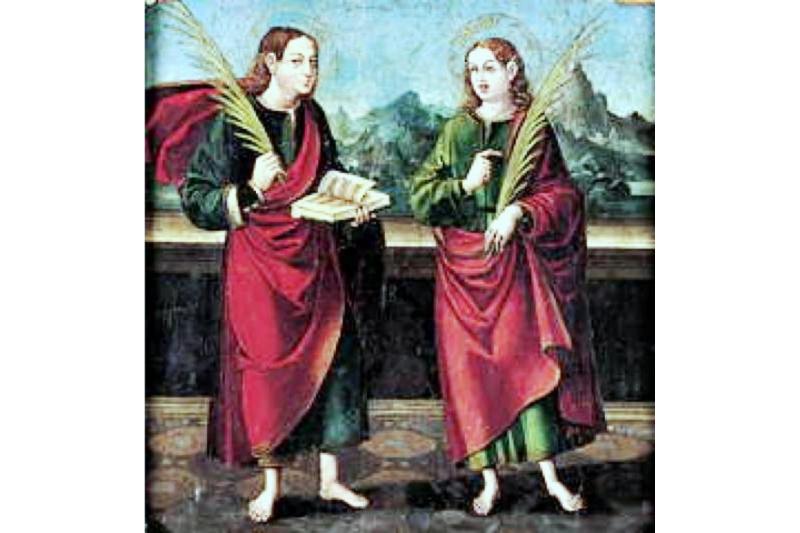 Transfiguración santos Justo y Pastor 6 de Agosto