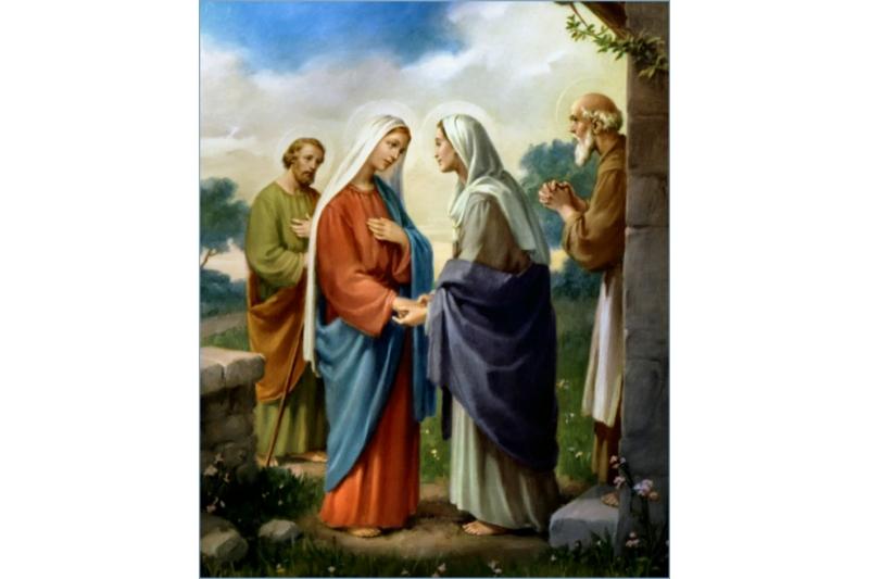 VIisitación de la Virgen María a su prima Isabel