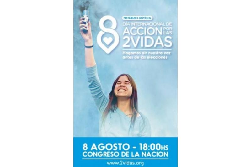 12 países se movilizan para celebrar el 8 de agosto el Día de Acción por las 2 vidas