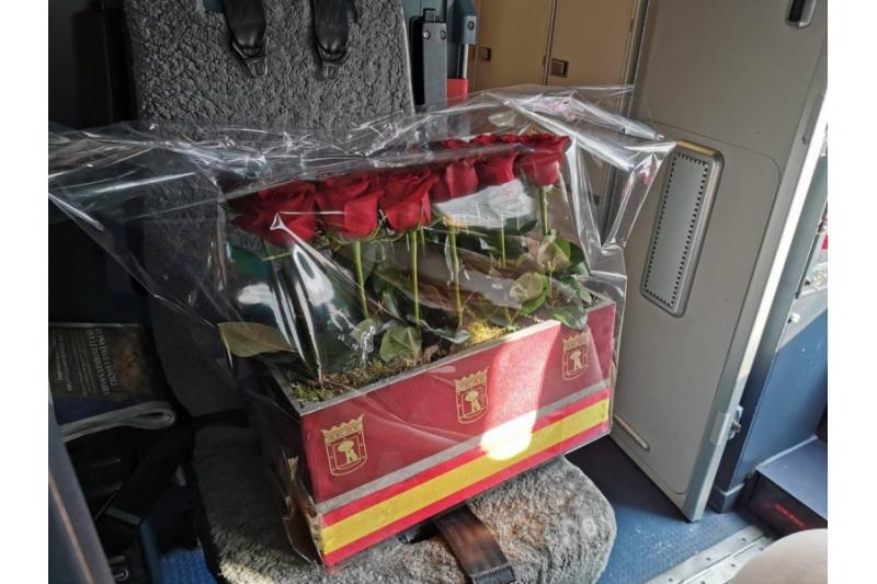 Madrid envía rosas a la Virgen de Guadalupe desde hace 65 años