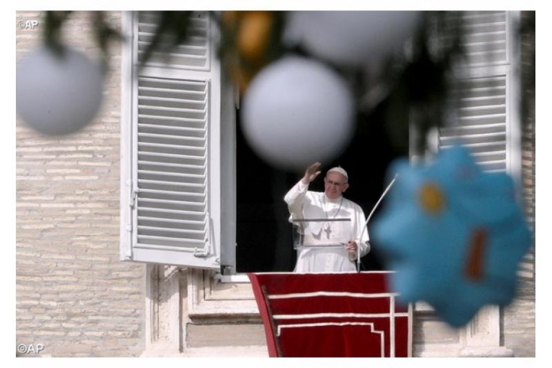 Papa Francisco: Adviento es el tiempo de reconocer los vacíos que necesitan ser llenados en nuestra vida