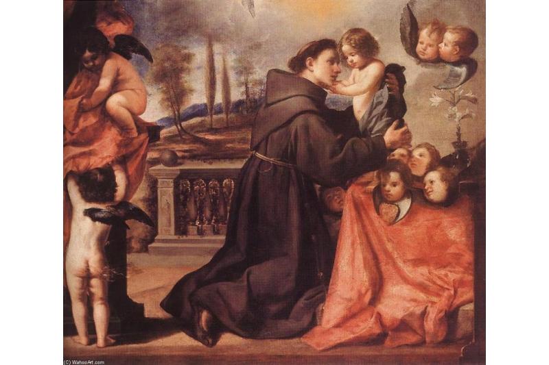 Encomendar los niños a San Antonio de Padua