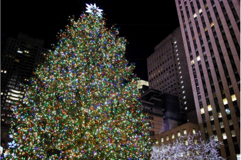 árbol de navidad rockefeller